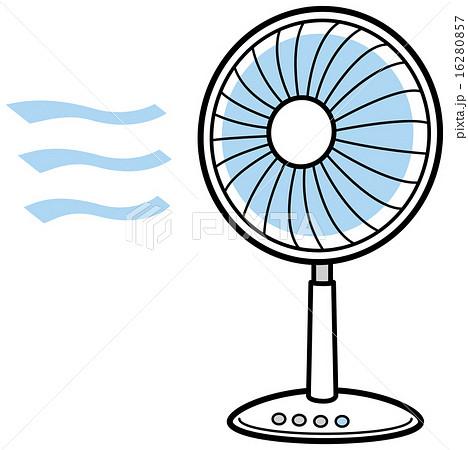 扇風機のイラスト素材 16280857 Pixta