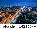 ライトアップ 夜景 ジャンクションの写真 16282040