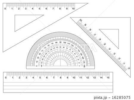 分度器・三角定規・定規 16285075