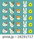 ペット 顔 動物のイラスト 16291717