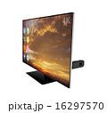 スティック型pc 4k パソコンのイラスト 16297570