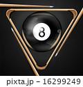 玉突き ゲーム 8のイラスト 16299249