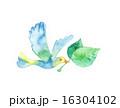 小鳥と葉っぱ 16304102