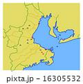 室町時代 伊勢湾地図 16305532