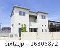 戸建て住宅 イメージ キューブ型 シンプルモダンテイスト 16306872