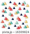 重なり トライアングル 三角のイラスト 16309824