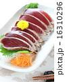 魚料理 鰹のたたき 鰹の写真 16310296