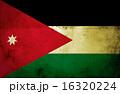 ヨルダン 旗 フラッグの写真 16320224