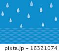 雫 水滴 雨のイラスト 16321074