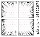 フレーム 漫画 ベクターのイラスト 16322974