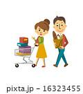 ショッピングカート ベクター ショッピングのイラスト 16323455