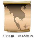 ビンテージ タイ タイ国のイラスト 16328619