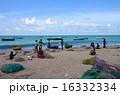 南インドの漁村 16332334