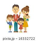 五人家族【三頭身・シリーズ】 16332722