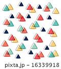 重なり トライアングル 三角のイラスト 16339918