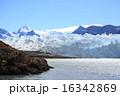 ペリトモレノ氷河 景色 氷河の写真 16342869