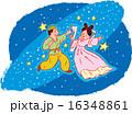 天の川 年中行事 織姫のイラスト 16348861
