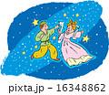 天の川 七夕祭り 織姫のイラスト 16348862