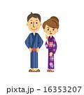 浴衣のカップル 16353207