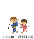 浴衣の子どもたち 16354110