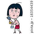 クレジットカード ビビる ベクターのイラスト 16354439