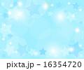 青色星キラキラ背景横 16354720