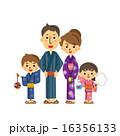 浴衣の家族 16356133