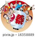 お祭り 16358889