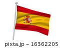 国旗 ベクター スペインのイラスト 16362205