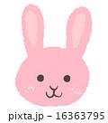 ベクター ウサギ アイコンのイラスト 16363795