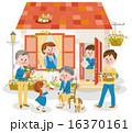 家と家族 16370161