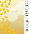 背景素材タテ-銀杏1 16374100