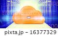 デジタル データセンター ファイリングキャビネットのイラスト 16377329