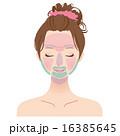 美容 脱毛箇所 人物のイラスト 16385645