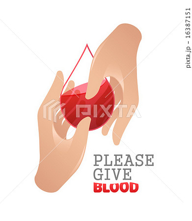 Please give blood vector 16387151