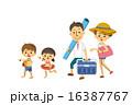 海水浴【三頭身・シリーズ】 16387767