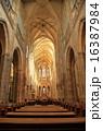 チェコ プラハ城 天井の写真 16387984