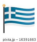 ギリシャの国旗 16391663