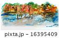 水彩画 自然 景色のイラスト 16395409