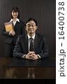 ビジネスウーマン 秘書 社長の写真 16400738