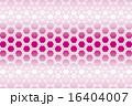 網目 ベクター 正六角形のイラスト 16404007