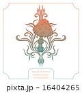 きのこ キノコ 抽象的のイラスト 16404265