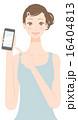 美容 スマートフォン 電話のイラスト 16404813