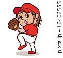 ピッチャー 投手 ベクターのイラスト 16406555