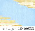 和紙 背景 和柄のイラスト 16409533