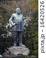 1月 鹿児島市の西郷隆盛像 16420526