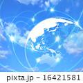 地球を取り巻くインターネット回線 16421581