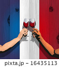 Bastille Day (Board and flag and wine) 16435113