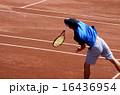 クレーコートでのテニス【サーブ】 16436954