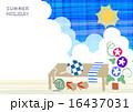 日本の夏 朝顔 16437031